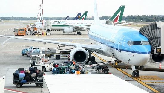 Flight KL1622, Milaan (LIN) - Amsterdam (AMS), scheduled departure 20130803 19:40hrs