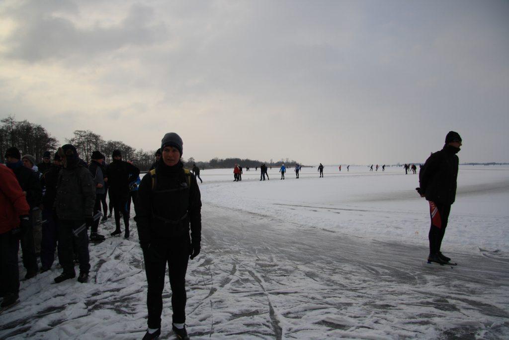 Beulakerwijde - snijdende tegenwind en sneeuw