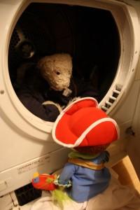 Flip helpt Flap over zijn wasmachinefobie heen